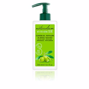 Gel de banho OLIVA 100% cleasing gel revitalizing Naturalium