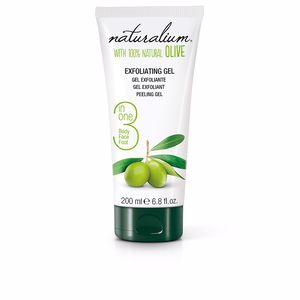 Face scrub - exfoliator 100% NATURAL OLIVE exfoliating gel Naturalium
