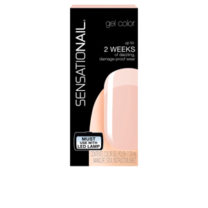 SENSATIONAIL gel color #barely there
