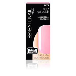 SENSATIONAIL gel color #pink chiffon