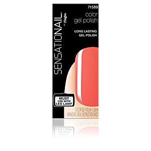 SENSATIONAIL gel color #coral sunset