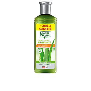 Moisturizing shampoo SENSITIVE champú aloe vera hidratante Naturaleza Y Vida