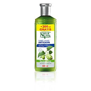 Shampoo antiforfora SENSITIVE champú lúpulo anticaspa Naturaleza Y Vida