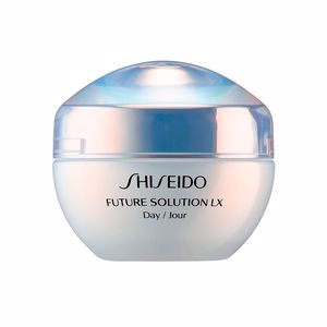 Anti aging cream & anti wrinkle treatment - Flash effect FUTURE SOLUTION LX total protective cream SPF20 Shiseido