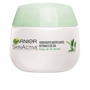 Matifying Treatment Cream SKINACTIVE HOJA DE TE VERDE crema matificante Garnier