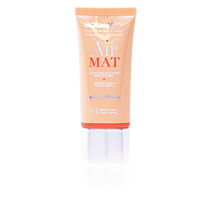 Fondation de maquillage AIR MAT fond de teint 24H Bourjois