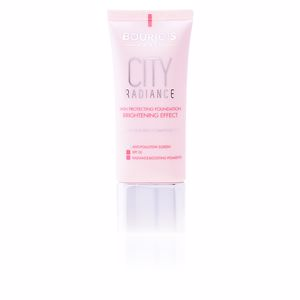 Foundation makeup CITY RADIANCE foundation brightening effect Bourjois