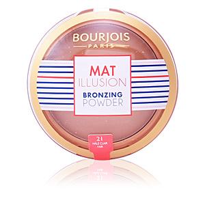 Bräunungspuder MAT ILLUSION bronzing powder Bourjois