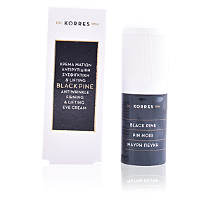 Eye contour cream BLACK PINE anti-wrinkle firming & lifting eye cream Korres