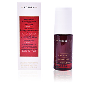 Tratamiento Facial Hidratante WILD ROSE brightening & line-smoothing serum Korres