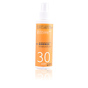 Body SUNSCREEN face & body emulsion yoghurt SPF30 spray Korres