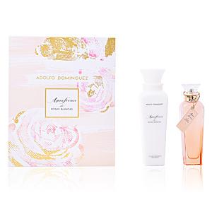 Adolfo Dominguez AGUA FRESCA DE ROSAS BLANCAS SET perfum