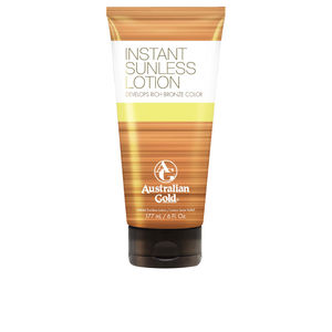 Body SUNLESS INSTANT rich bronze color lotion Australian Gold