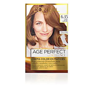 Tintes EXCELLENCE AGE PERFECT #6,35-castaño muy claro dorado caoba L'Oréal París