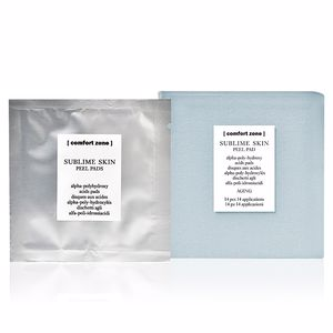 Anti aging cream & anti wrinkle treatment SUBLIME SKIN peel pads Comfort Zone