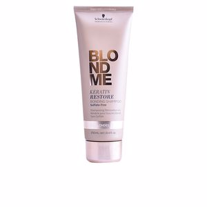 Champú color BLONDME keratin restore bonding shampoo Schwarzkopf