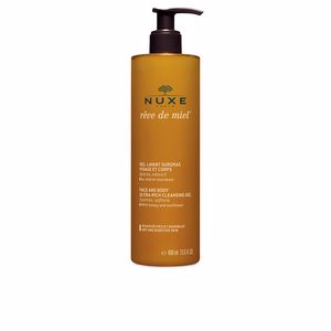 Facial cleanser RÊVE DE MIEL gel lavant surgras visage et corps Nuxe