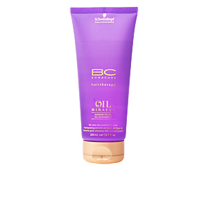 Shampooing anti-casse - Shampooing hydratant BC OIL MIRACLE barbary fig oil restorative shampoo Schwarzkopf