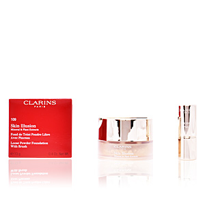 Base de maquillaje SKIN ILLUSION mineral & plant extracts Clarins