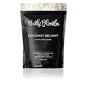 Exfoliant corporel COCONUT DELIGHT AYYAYA COCO JUMBO natural body scrub Body Blendz