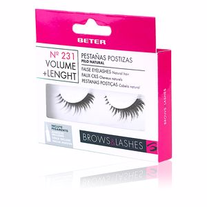 False eyelashes PESTAÑAS POSTIZAS #231 volumen + longitud Beter