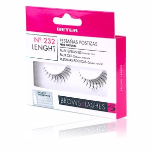 False eyelashes PESTAÑAS POSTIZAS #232 longitud Beter