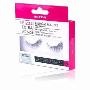 False eyelashes PESTAÑAS POSTIZAS #234 extra longitud Beter