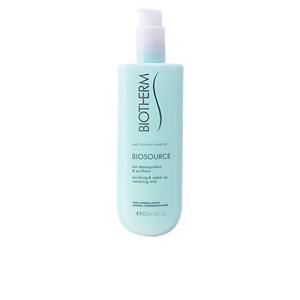 Limpiador facial BIOSOURCE purifying & make-up removing milk  Biotherm