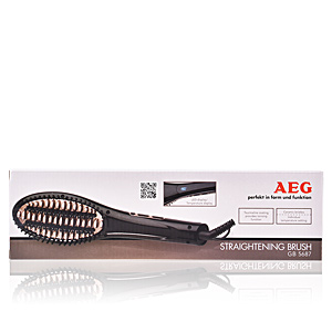 Electric hair brush CEPILLO ALISADOR DE PELO GB5687 Aeg