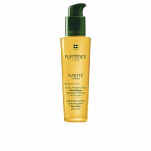 Keratin treatment KARITE HYDRA day cream Rene Furterer