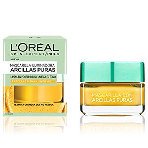 Face mask ARCILLAS PURAS limón yuzu mascarilla iluminadora L'Oréal París