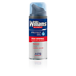 Mousse à raser PROTECT shaving gel sensitive skin Williams