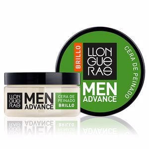 Hair styling product - Hair styling product MEN ADVANCE BRILLO cera de peinado Llongueras