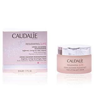 Anti aging cream & anti wrinkle treatment RESVERATROL LIFT crème cachemire redensifiante Caudalie