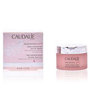 Anti aging cream & anti wrinkle treatment RESVERATROL LIFT crème tisane de nuit Caudalie