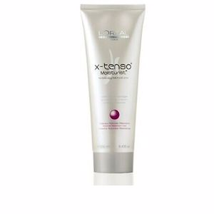 Hair straightening treatment X-TENSO smoothing cream resistant natural hair L'Oréal Professionnel