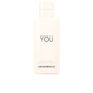 Body moisturiser BECAUSE IT'S YOU sensual perfumed body lotion Giorgio Armani