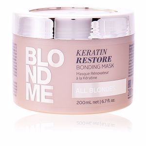 Hair mask for damaged hair BLONDME keratin restore bonding mask Schwarzkopf