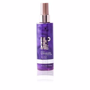 Conditioner for colored hair BLONDME tone enhancing spray conditioner Schwarzkopf