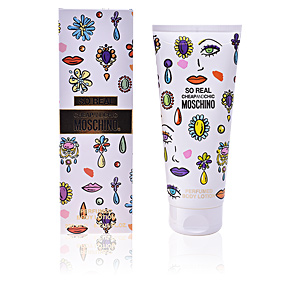 Hidratante corporal SO REAL CHEAP & CHIC perfumed body lotion Moschino