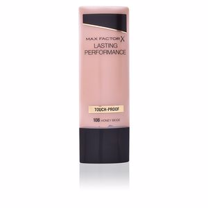 Foundation makeup LASTING PERFORMANCE touch proof Max Factor