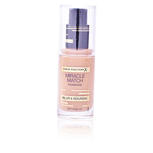 Foundation makeup MIRACLE MATCH BLUR & NOURISH foundation Max Factor