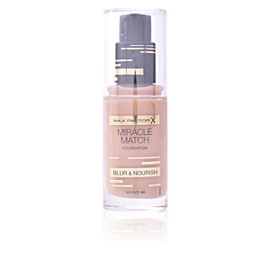 MIRACLE MATCH BLUR & NOURISH foundation #80-bronze