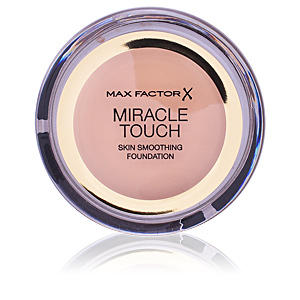 Base maquiagem MIRACLE TOUCH skin smoothing foundation Max Factor