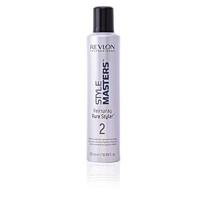 Producto de peinado STYLE MASTERS hair spray pure styler medium hold Revlon