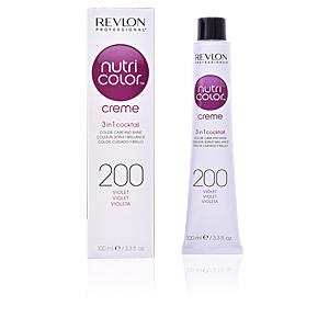 Tintes NUTRI COLOR creme #200-violett Revlon