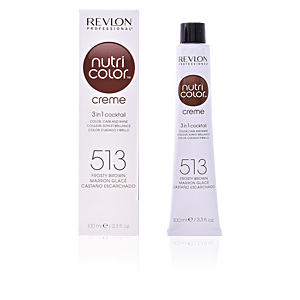 Haarfarbe NUTRI COLOR creme #513-frosty brown Revlon