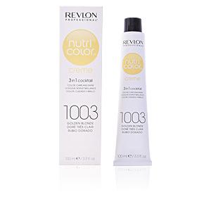 Tintas NUTRI COLOR creme #1003-golden blonde Revlon