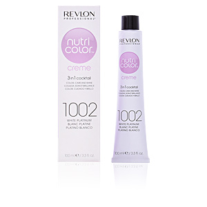 Dye NUTRI COLOR creme #1002-white platinum Revlon