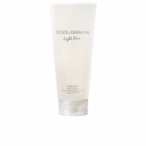 Body moisturiser LIGHT BLUE POUR FEMME refreshing body cream Dolce & Gabbana